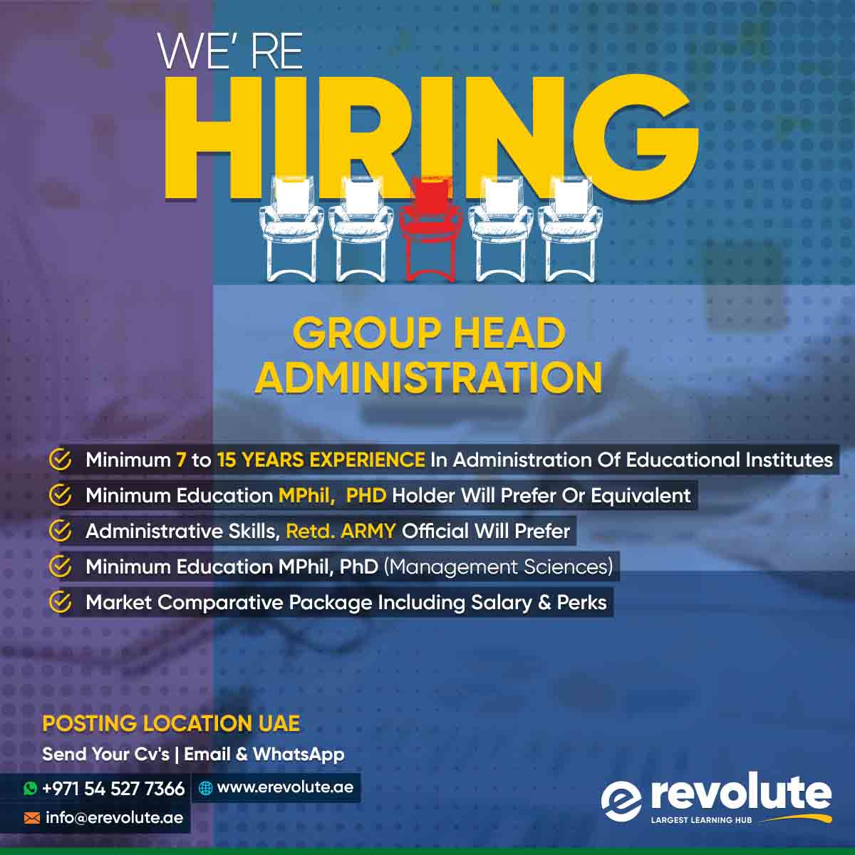 we-are-hiring-Administrator