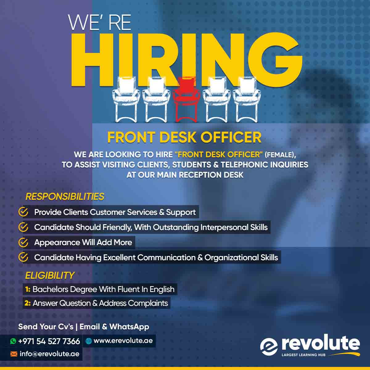 we-are-hiring-Receptionist